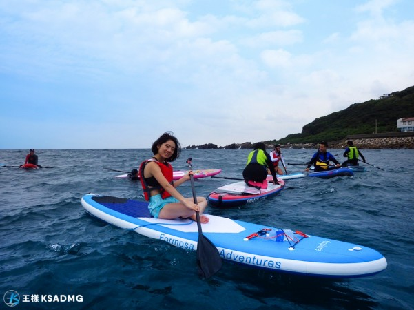 【SUP】龍洞SUP浮潛雙滿足,海上遨遊+海底探勘