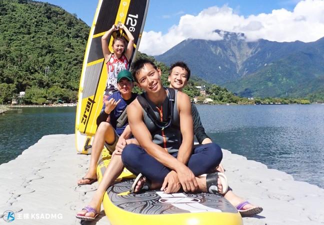 【SUP】鯉魚潭SUP,一年四季都能優雅玩水