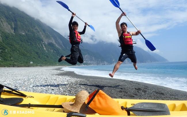 【獨木舟】巧奪天工的壯麗,清水斷崖獨木舟探索