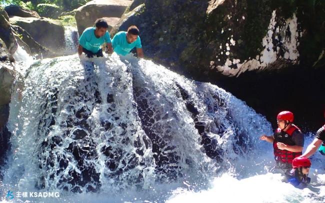 【溯溪】清涼一夏,宜蘭金洋秘境無名溪跳水挑戰