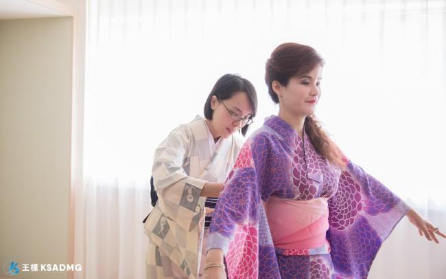 【文化體驗】日本浴衣換裝體驗,專人服務穿搭