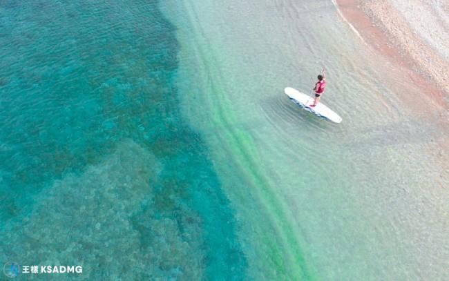 【SUP】墾丁中洲沙灘SUP探索美麗珊瑚