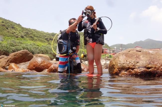 【PADI】台北學潛水!開放水域潛水證照課程