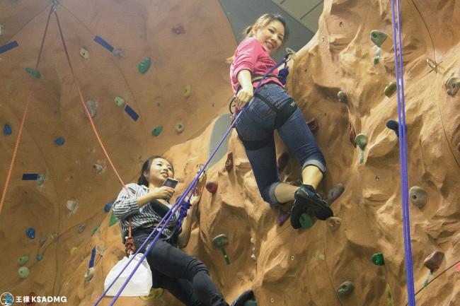【攀岩】肌耐力大考驗,文山室內攀岩樂