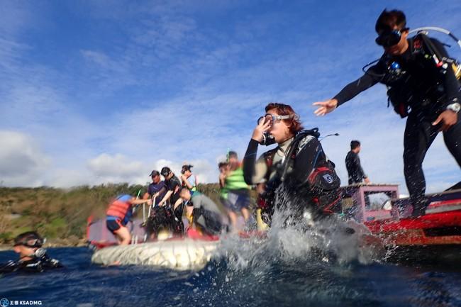 【潛水】 墾丁南灣獨有!外海平台式體驗潛水