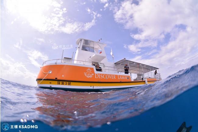 【觀光休閒】小琉球海底觀光玻璃半潛艇,輕鬆看海龜