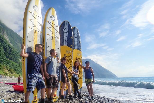 【SUP】清水斷崖划SUP,壯麗景色,今夏最酷活動