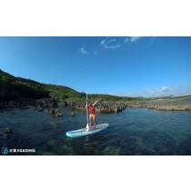 【SUP】墾丁秘境SUP,小峇里島玻璃海珊瑚礁邂逅