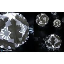 【藝術課程】神奇紙工藝,精緻幾何紙球燈創作
