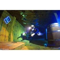 【室內潛水】亞洲第一潛水旅館 – 台中潛立方室內潛水