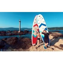 【SUP】澳底外礁金銀島SUP,海上燈塔登島逍遙遊