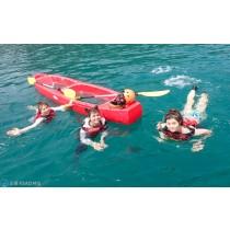 【獨木舟】東澳灣超夢幻透明船漂浮體驗2HR