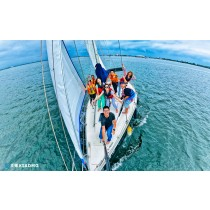 【帆船】悠揚出航,大鵬灣30呎帆船體驗