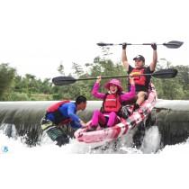【獨木舟】飽覽河岸!福隆雙溪河風光獨木舟體驗