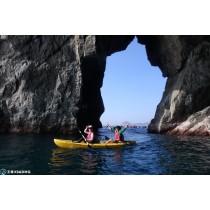 【獨木舟】探索海蝕洞秘境-宜蘭東澳獨木舟行