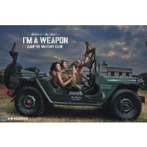 【軍事俱樂部】戰地英雄,仿真槍射擊與軍規車體驗