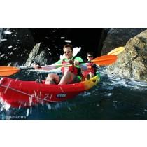 【獨木舟】探索海蝕洞秘境,宜蘭東澳獨木舟行