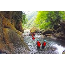 【溯溪】北部最強,南澳金岳瀑布刺激溯溪跳水攀登