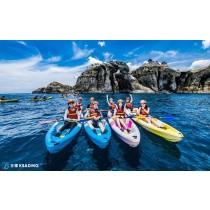【獨木舟】海上仰望象鼻岩,北海岸獨木舟之旅