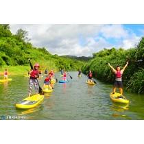 【SUP】秋冬也能玩水上 – 福隆內河雙溪古道水路之旅
