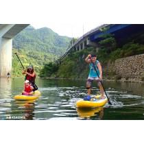 【SUP】超輕鬆貼近自然,親子同遊最推薦-坪林親水公園